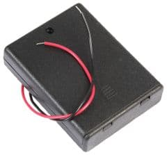 PRO POWER PP002096  Battery Box, 4X Aaa, Wired